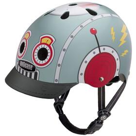 Nutcase Street Helmet Kinder tin robot
